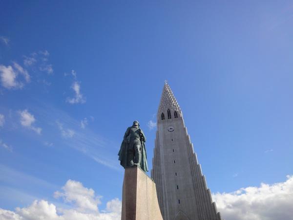 Caro Hardy - église Reykjavik